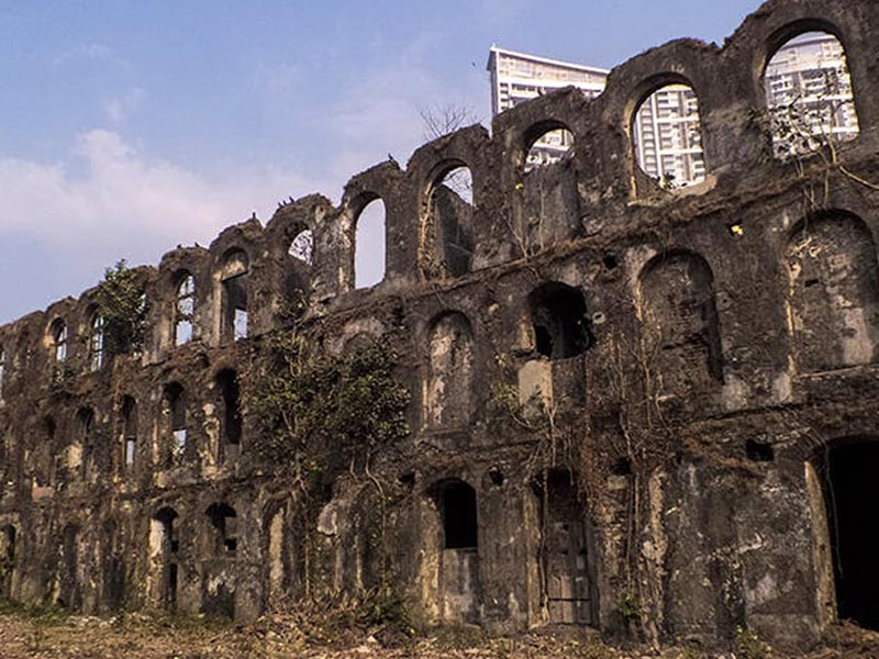 Mukesh Mill - Top haunted places in India